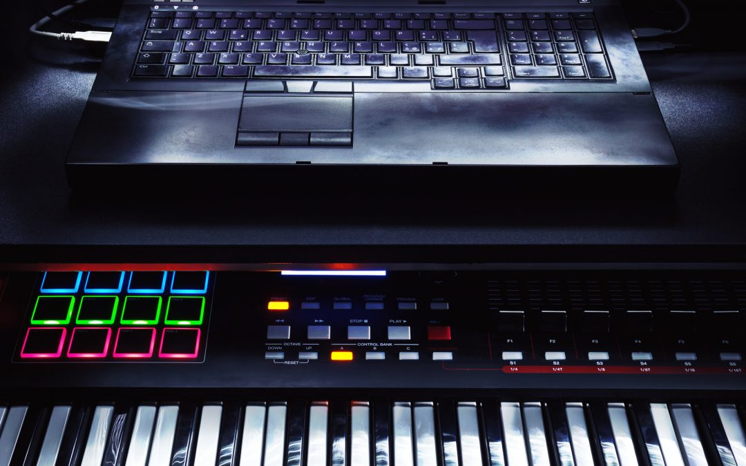 Use Keyboard as MIDI Controller for a Custom Setup on the Fly