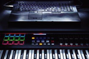 Keyboard as MIDI Controller