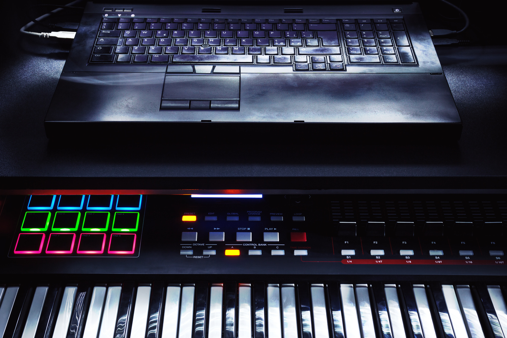 Use Keyboard as MIDI Controller for Sweet Setup on the Fly